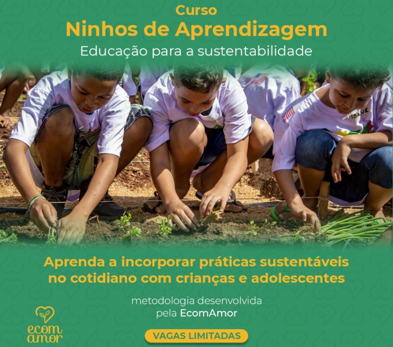 Inscrições abertas para o nosso curso online Ninhos de Aprendizagem: educação para a sustentabilidade
